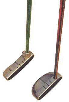 Wild Mountain Golf's Milled and Red Softface Putters